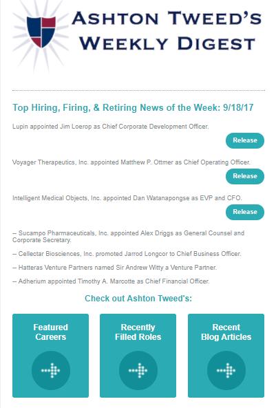 Ashton Tweed's Weekly Digest