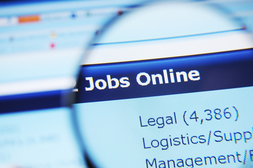Jobs posted online
