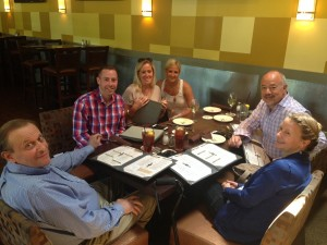Lunch with the Ashton Tweed gang!